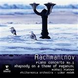 Mikhail Pletnev: Rachmaninoff op 43 variation 18 # theme from Paganini