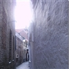 Small alley in Bruges.