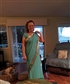 My daughter in laws first gift to me. A sari from India
