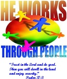 He Works Through People jenny donders