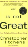 God is not great: Christopher Hitchens