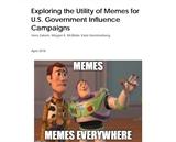 Exploring the Utility of Memes for U.S. Government Influence Campaigns: Vera Zakem, Megan K. McBride, Kate Hammerberg