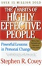 The 7 Habits of Highly Effective People Stephen R Covey Book