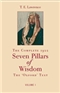 Seven Pillars of Wisdom T E Lawrence Lawrence of Arabia