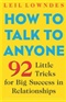 How To Talk To Anyone Leil Lowndes Book