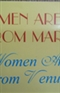 MEN ARE FROM MARS WOmen Are From Venus JOHN GRAY Ph D Book