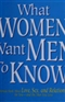 What women want men to know Barbara De Angelis Ph D Book