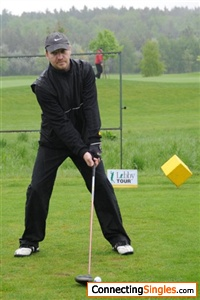 my biggest love is golf