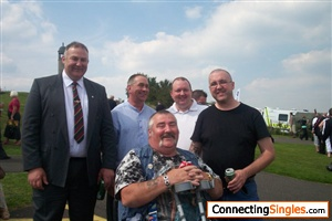 me with my old army mates 2012