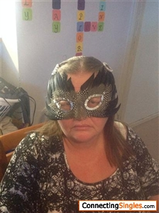 On my way to a masquerade ball