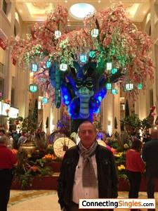 yo en Las Vegas
