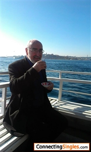 on a ferry in istanbul