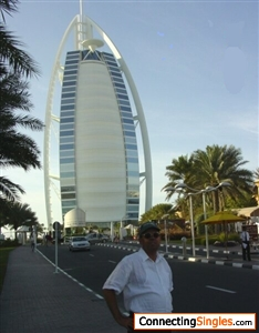 Near by the Burj al Arab but didnt stay for the night