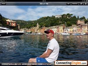 On a cruise in Portofino Italy