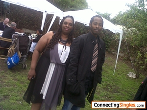 me and one of my sons at my grandaughters first communion