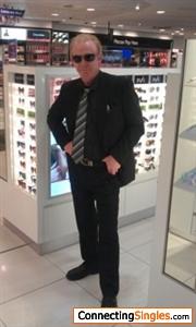 My CSI Miami pose