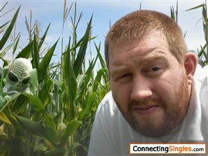 Their something in the corn