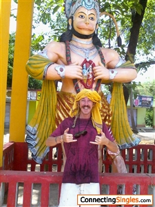 Shaka means to hang loose to be relaxed or effortless Here is sun wu king hanuman and myself giving a double shaka pachak