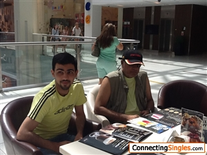 trip to Dubai I m on the right