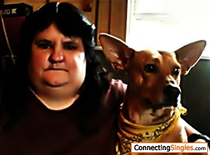 Me and my Dingo dog Ginger