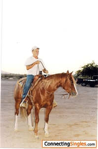 my Roping mare and me