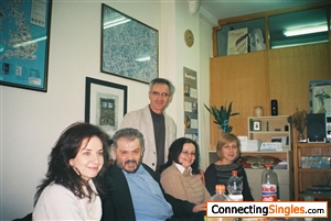 With my teachers at the end of schoolyear June 2008