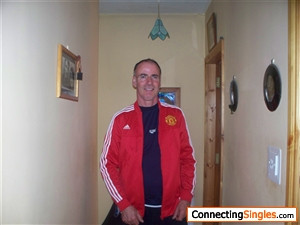 this is me very content at home wearing my new man united jacket