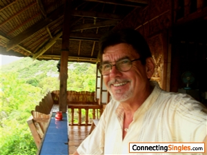 Myself in my Philippine Bamboo house few months ago