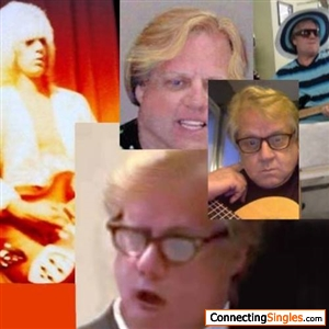 many of me through the years up to present in glasses singing or guitar pic