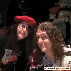 one the highlights of my 2016 i got to meet weird al yankovic