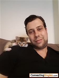 me and my awesome cat soeky