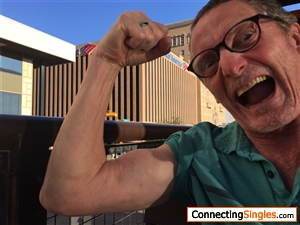 Muscle man goes crazy!!!