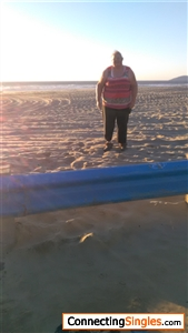 And this picture I am standing at the beach