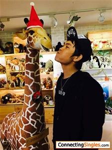 I love giraffe