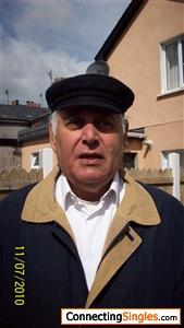 In my uniform cap