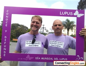 Lupus Awareness Day.  At Lima's Museum of Art, 2017