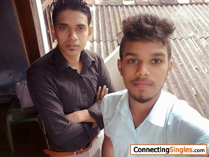 my friend s selfy with me