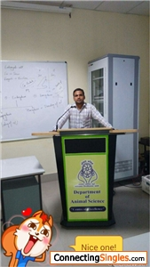 During my master degree in department of animal science