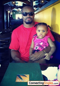 Lunch with my daughter.