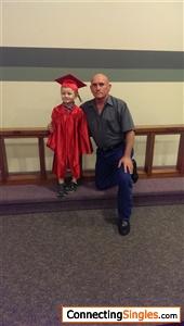 My buddy graduating from Harvard ( Ok it was kindergarten )