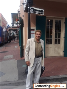 me in new orleans the famous bourbon st