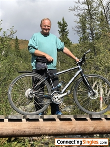 Bicycling in mountains