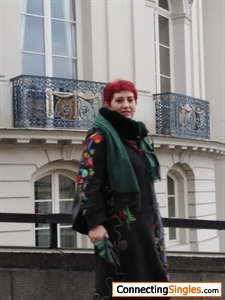 In Brussel met mijn dochter november 2019 tentoonstelling MagrietDali
