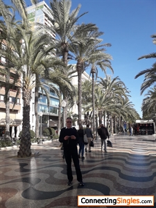 In Alicante on 74th Birthday
