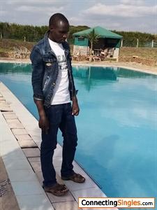 Simple black guy