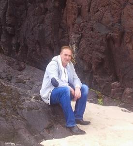 On the beach in Highlands of scotlsnd