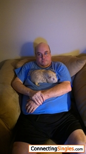 This is me and one of my daughters guinea pigs Its from several years ago