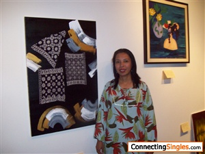 Painting Exhibitions in Shangrila Hotel Jakarta 2009