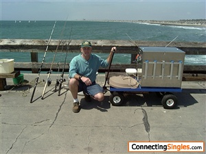 A DAY OF RELAXING PIER FISHING AFTER DOING A GREAT EARLY MORNING DIVE IF YOU ARE A DIVER AND YOU LOVE CLAMMING AND SHARK TEE