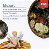 Wolfgang Amadeus Mozart Composer Neville Marriner Conductor Barry Tuckwell Performer: Mozart Horn Concertos Nos 1 4